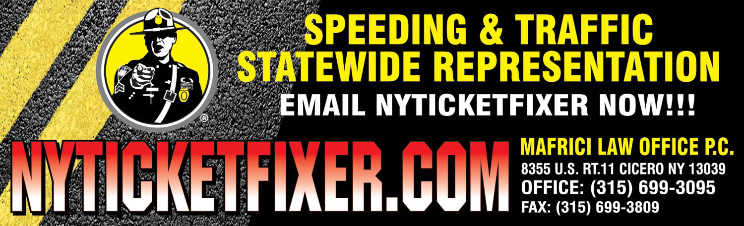 Speeding & Traffic Statewide Representation